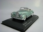 Mercedes 300 SC Roadster 1956 Metallic Green 1:43 White Box 115